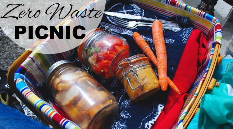 zero waste picnic with www.goingzerowaste.com