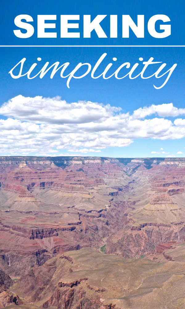 seeking simplicity; zero waste, from www.goingzerowaste.com