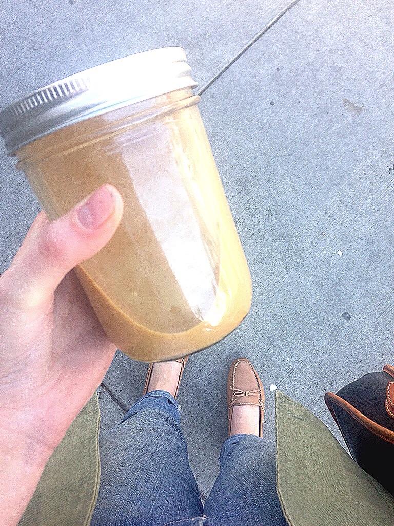 Vanilla, Corriander, Almond Milk Latte