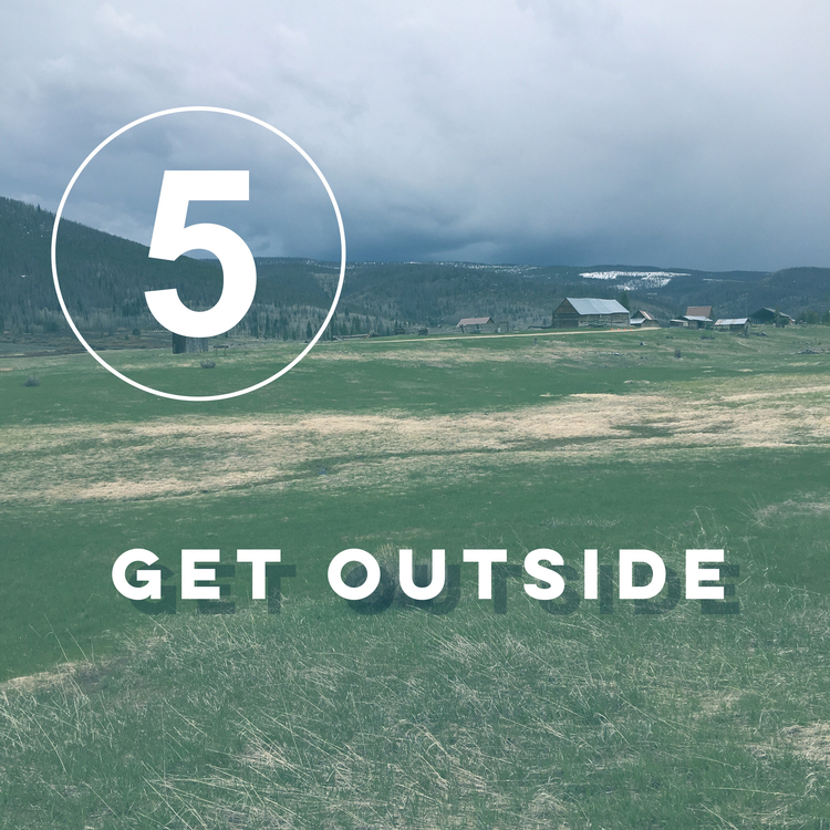 Day five of the zero waste challenge! Get outside. Nature is restorative, practice it daily.