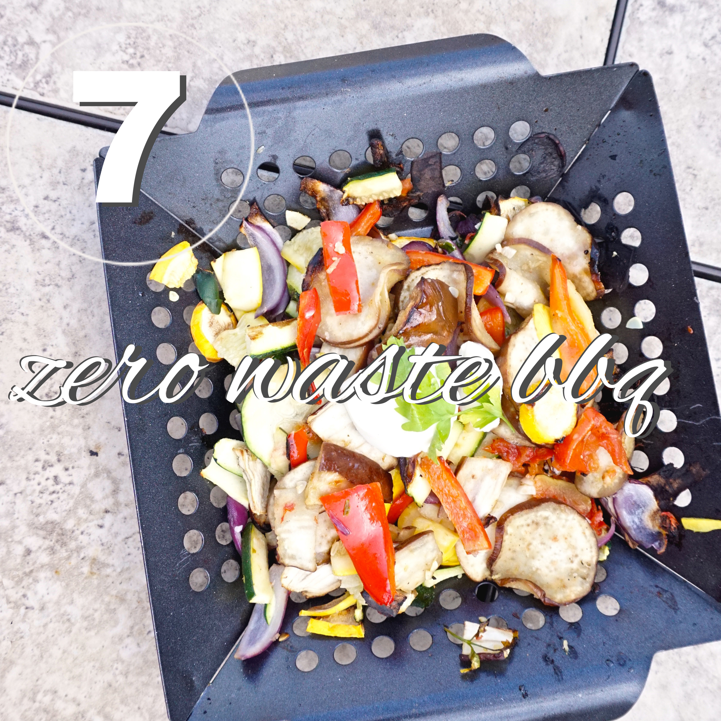 Day seven of the zero waste challenge! How to have a zero waste bbq for the summer.