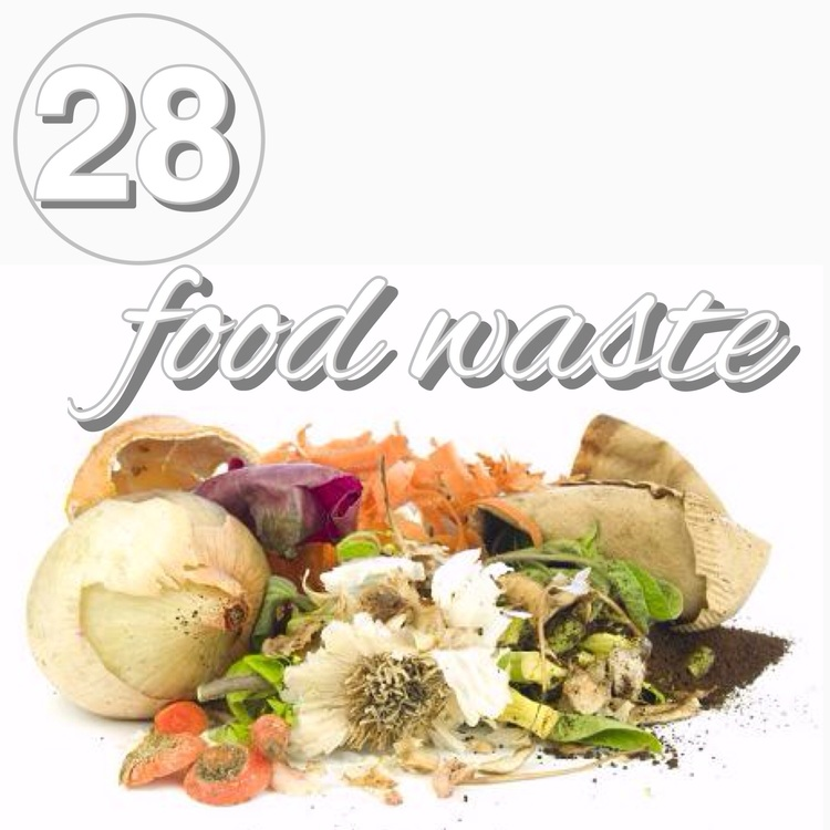 Zero waste challenge day 28! Beyond composting try and use your food scraps. Food scraps are still food. Learn some of my favorite ways to cook with scraps at www.goingzerowaste.com