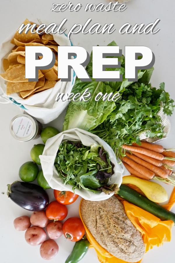 Zero waste meal prep with www.goingzerowaste.com