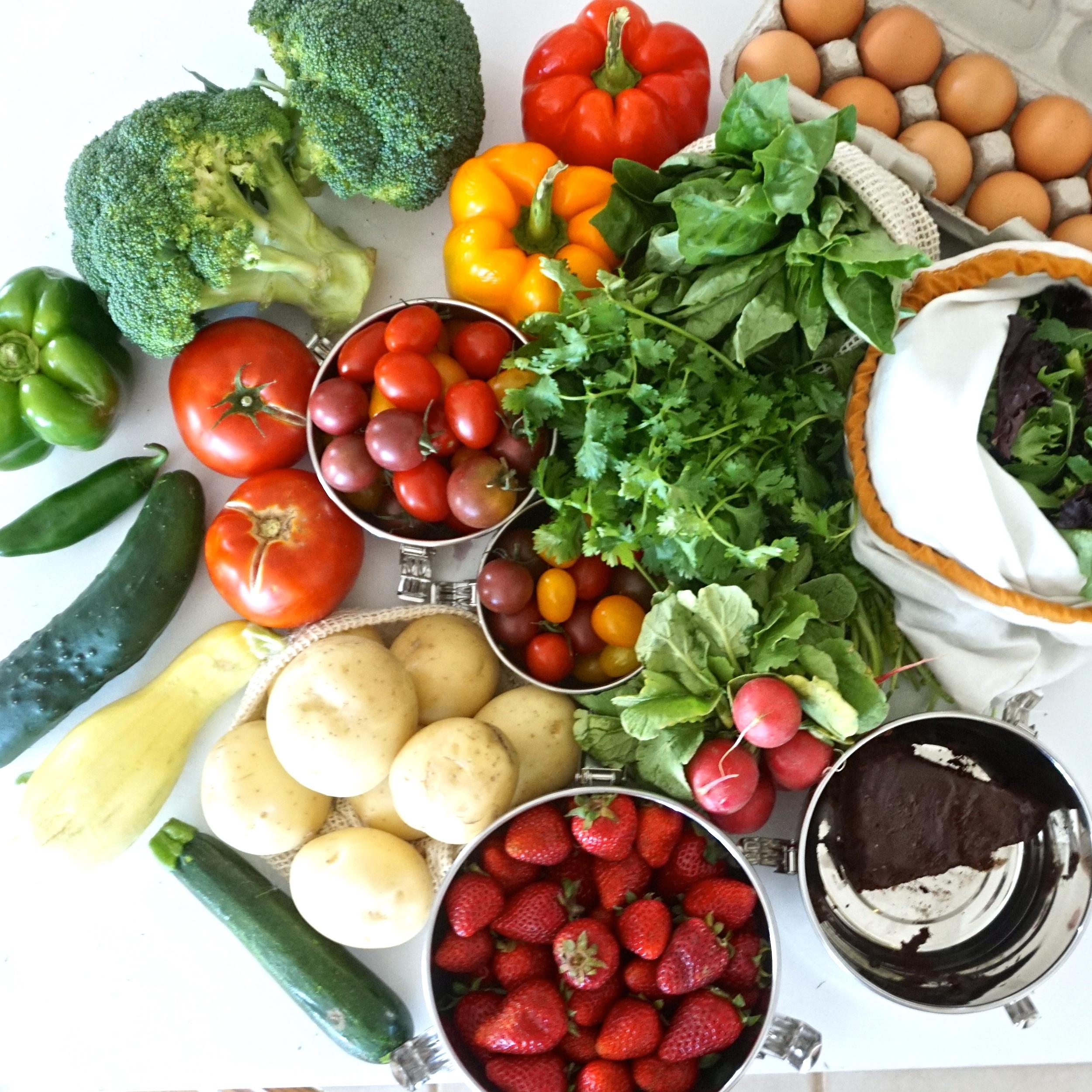 zero waste meal plan and prep with www.goingzerowaste.com