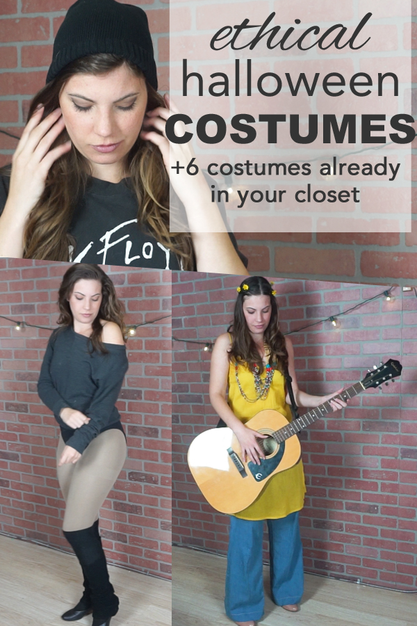 Quick and easy halloween costumes. An ethical and eco-friendly Halloween has never looked better. Six easy costumes you can make from what you already have in your closet find out more on www.goingzerowaste.com
