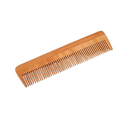 A wooden comb is so stylish on your bathroom counter. Much more sturdy than a plastic comb. No more broken tines. Nothing would ruin my day like having comb tines break in my hair on school picture day.