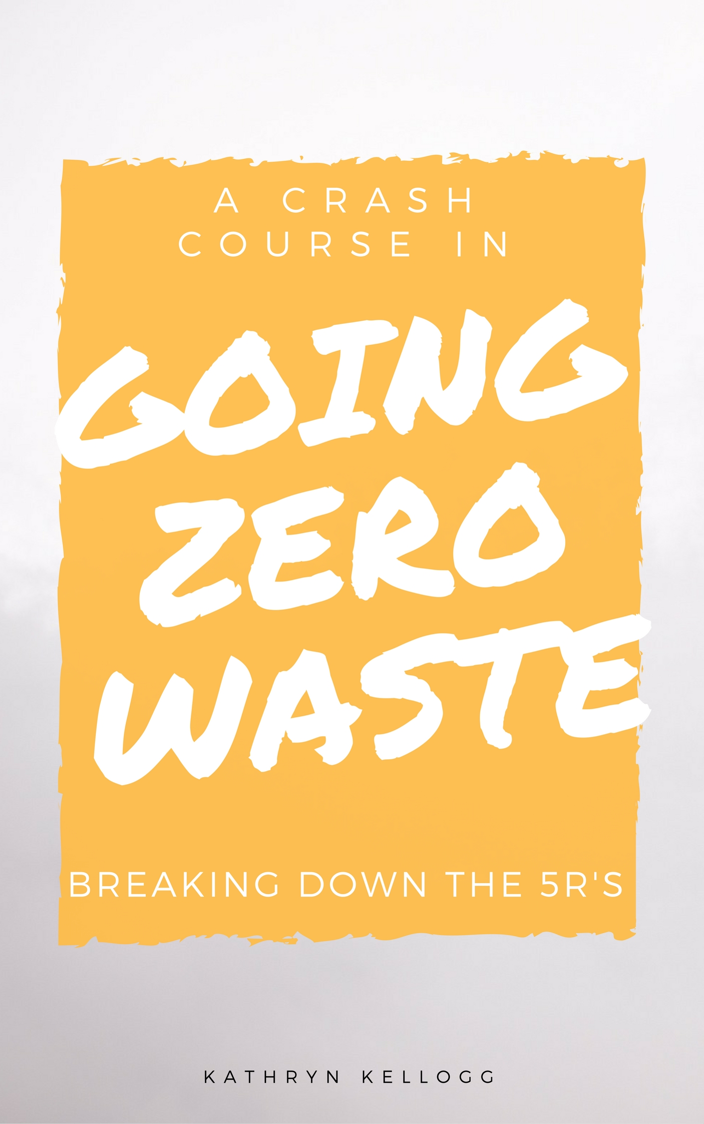 Let's talk about the five R's of Zero Waste, refuse, reduce, reuse, rot, and recycle from www.goingzerowaste.com