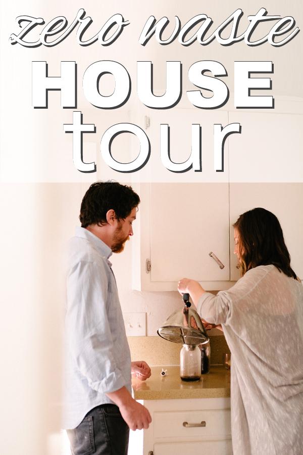 my zero waste house tour from www.goingzerowaste.com