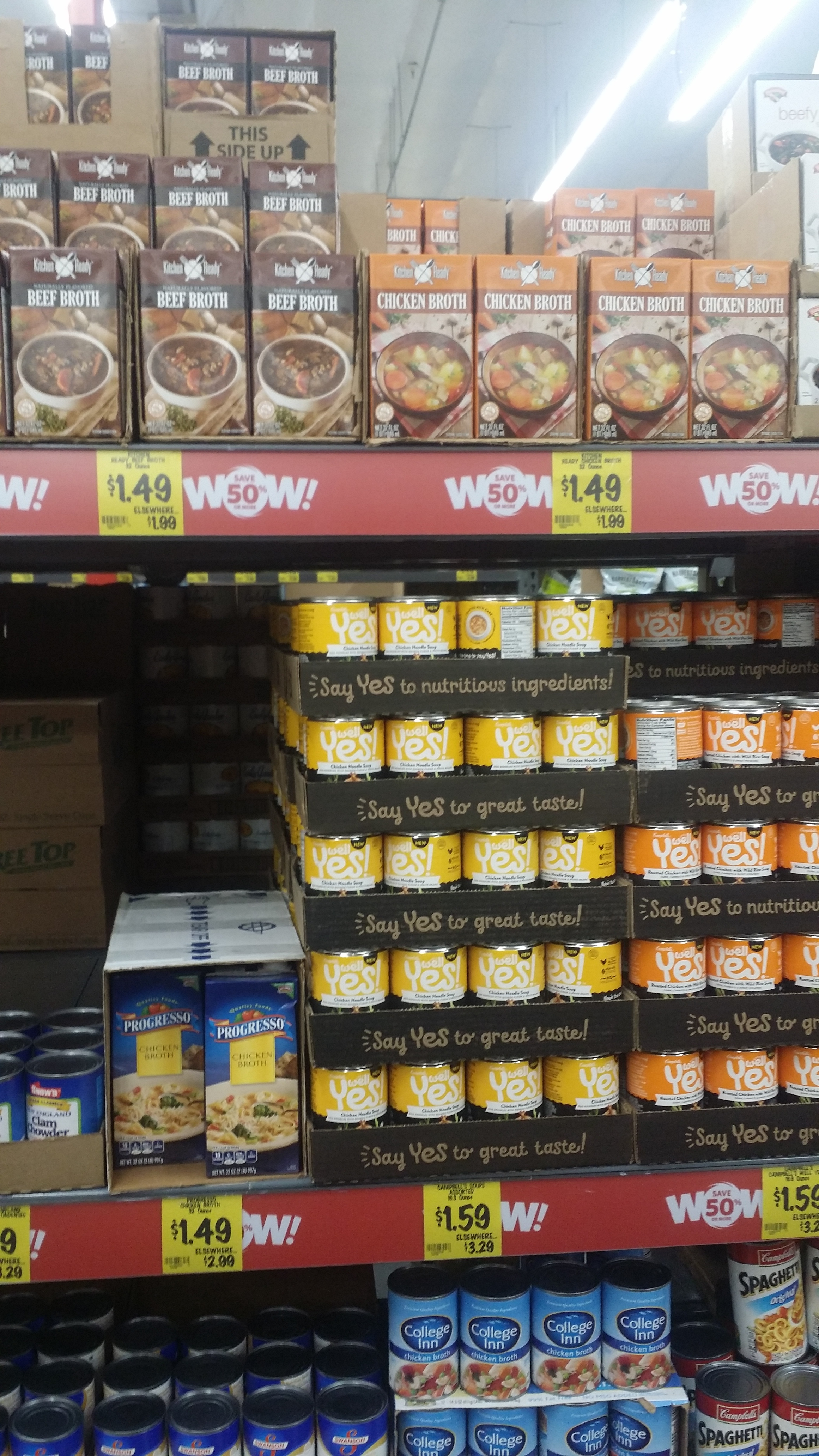 The zero waste grocery store challenge visits grocery outlet from www.goingzerowaste.com