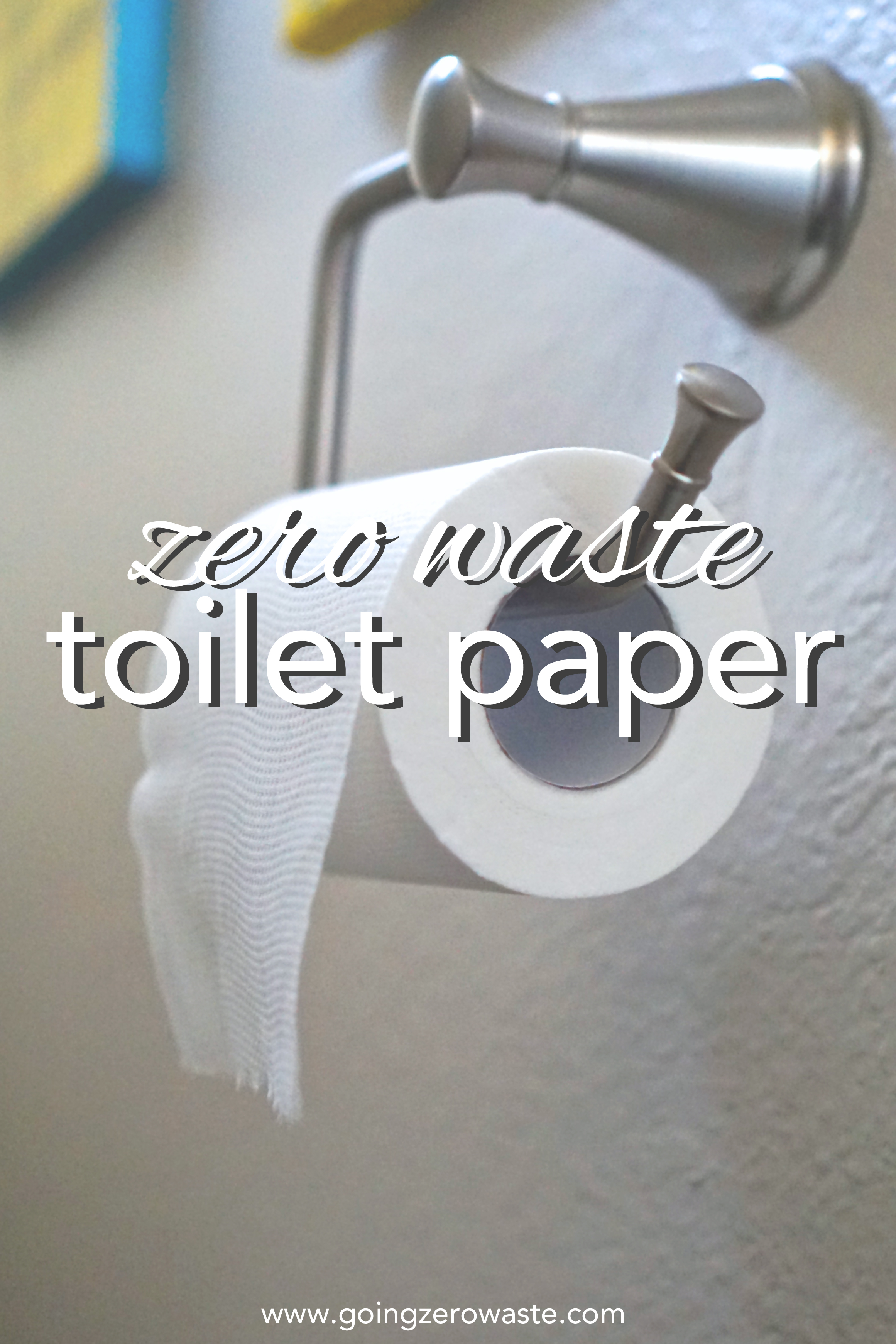 What do you use for toilet paper when you're zero waste? Find out more about family cloth, bidet attachments, and eco-friendly toilet paper on www.goingzerowaste.com