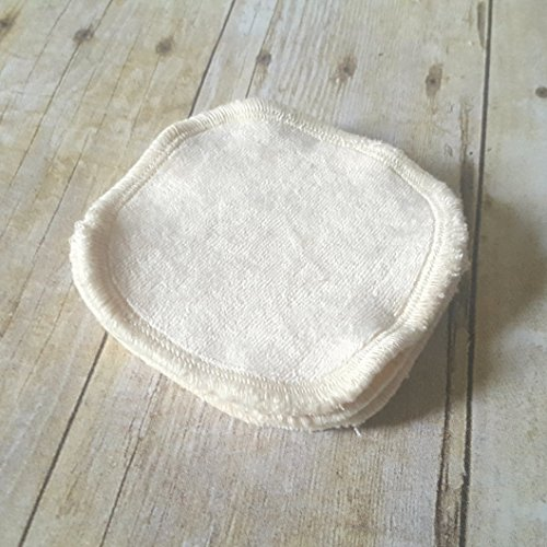 Reusable cotton pads to help you kick those disposable cotton pads to the curb. These are great for removing makeup and toner. They also fit nicely in a mason jar in the makeup cabinet. Very farmhouse chic.
