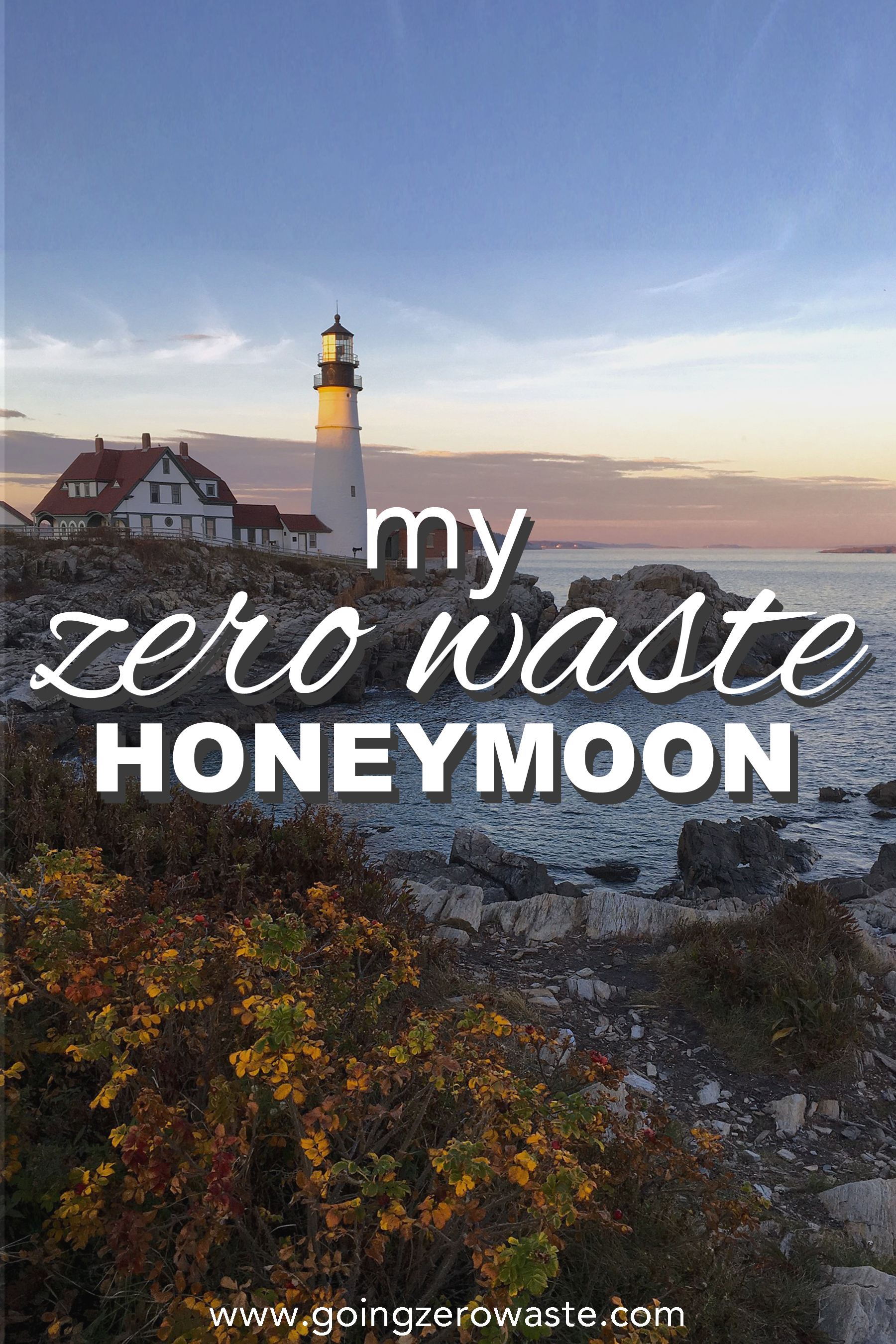 My zero waste honeymoon from www.goingzerowaste.com