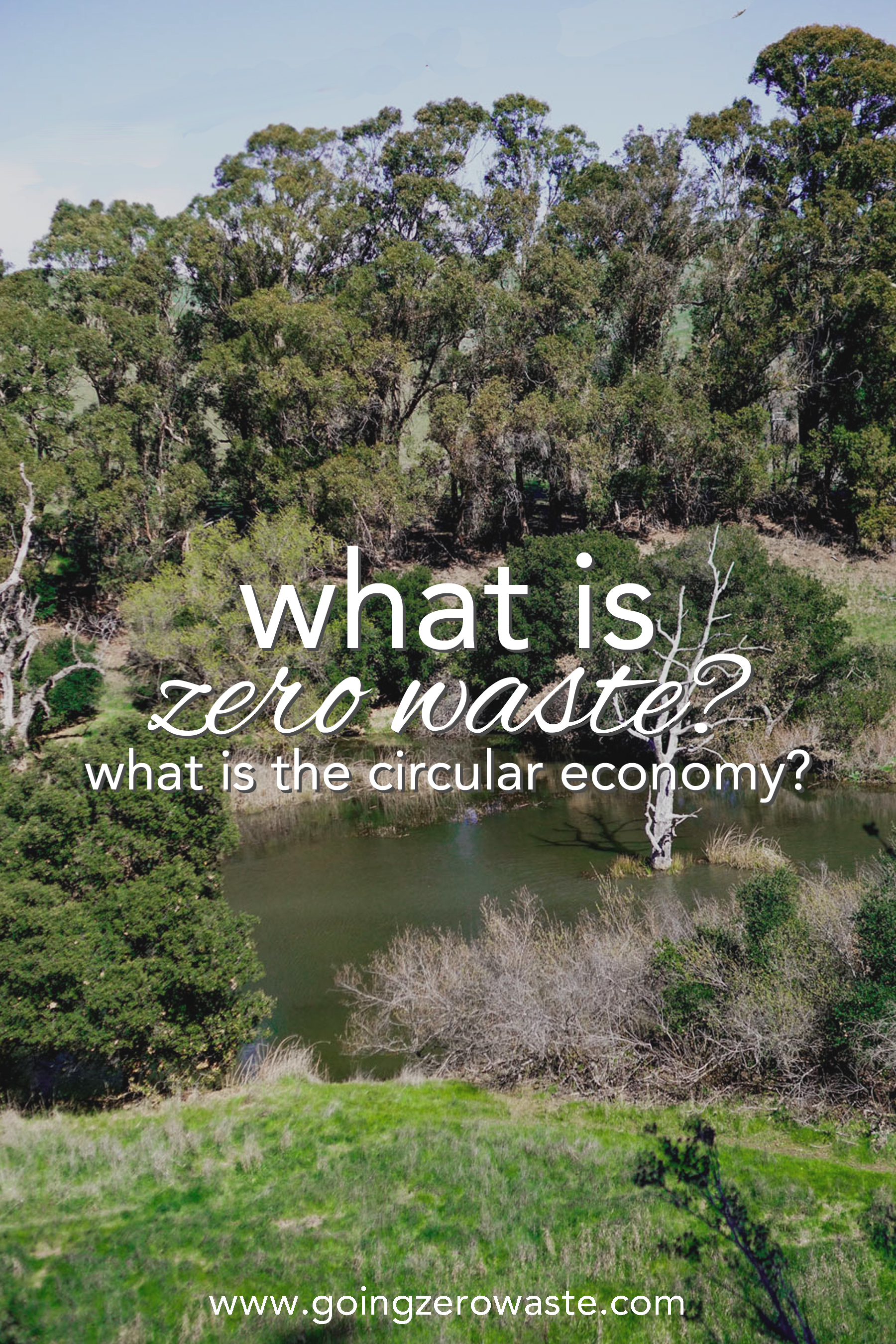 What is zero waste and what is the circular economy from www.goingzerowaste.com