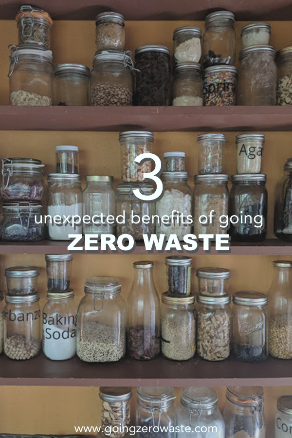 3 unexpected benefits of going zero waste from www.goingzerowaste.com