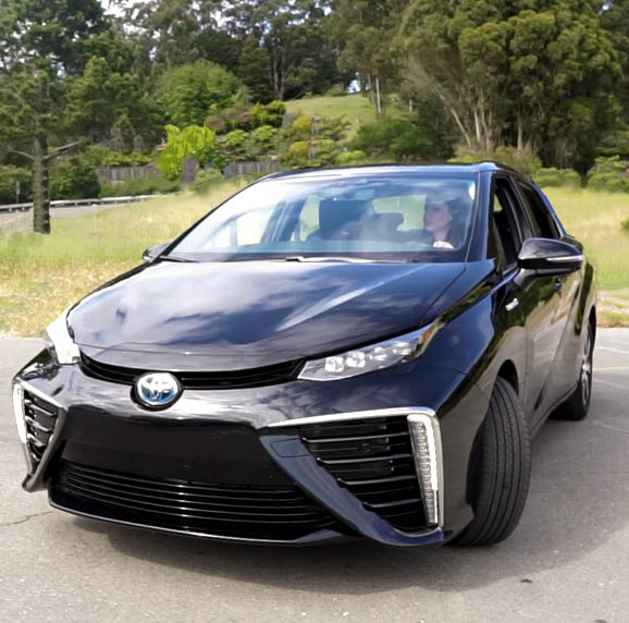 An afternoon with the Toyota Mirai from www.goingzerowaste.com