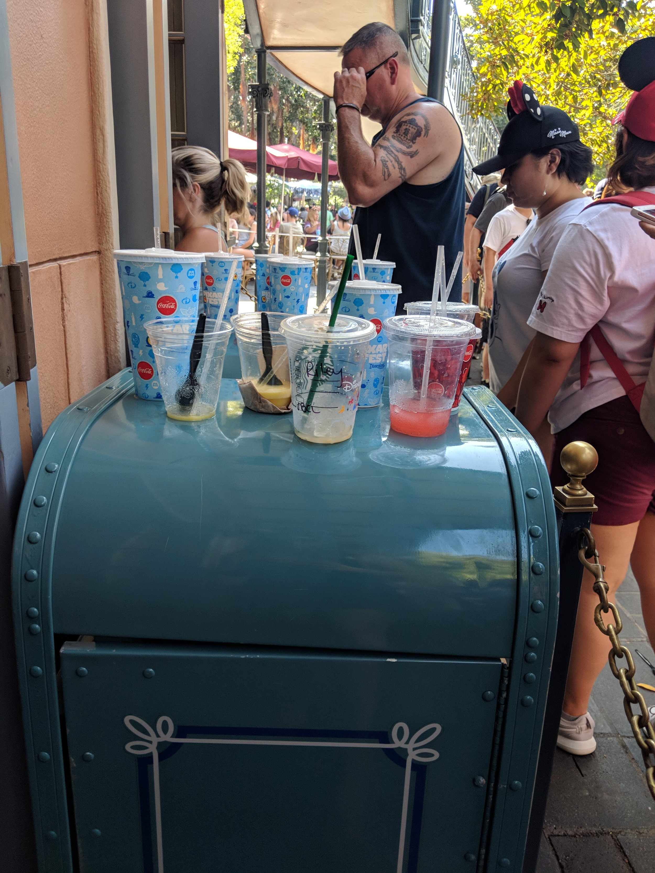 What I packed for a zero waste trip to disneyland from www.goingzerorwaste.com