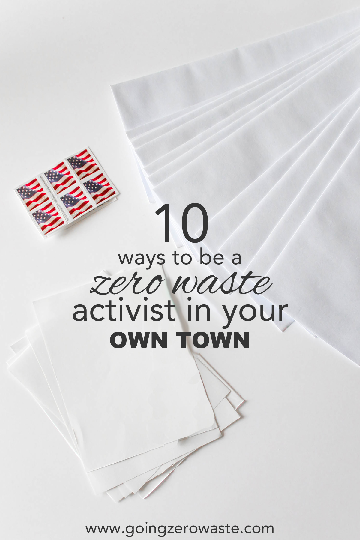 10 Ways to Be a Zero Waste Activist in Your Town from www.goingzerowaste.com #zerowaste #community