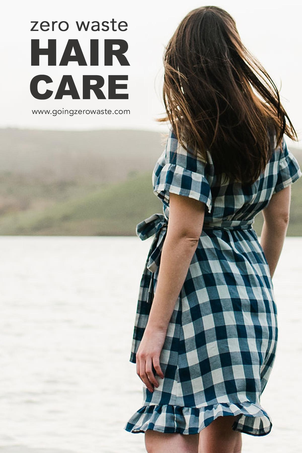 Zero Waste Hair Care from www.goingzerowaste #haircare #ecofriendly #zerowaste