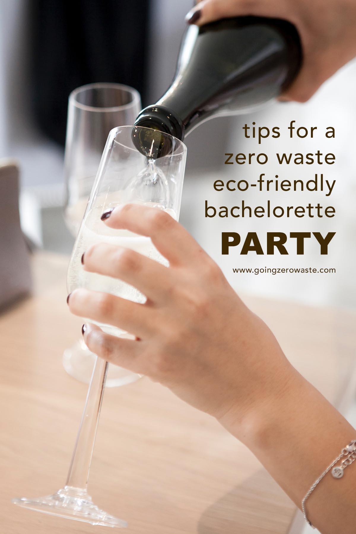 My zero waste bachelorette party from www.goingzerowaste.com #bachelorette #zerowaste #ecofriendly #bachelorretteparty #weddings