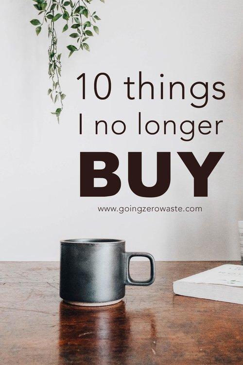 Blog - Going Zero Waste