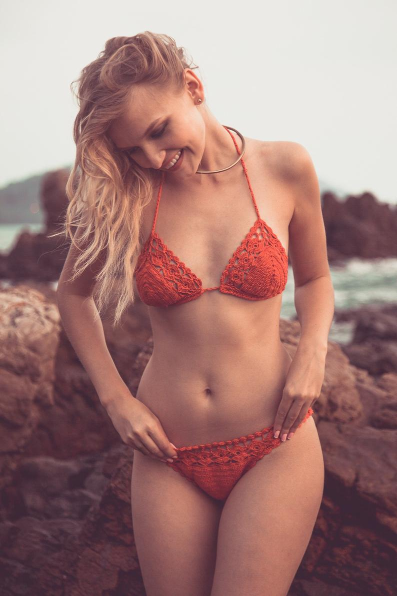 6 ethical and sustainable swimwear brands from www.goingzerowaste.com #ethicalfashion #sustainable #swimwear #beach #ecofriendly #zerowaste #swim #pool