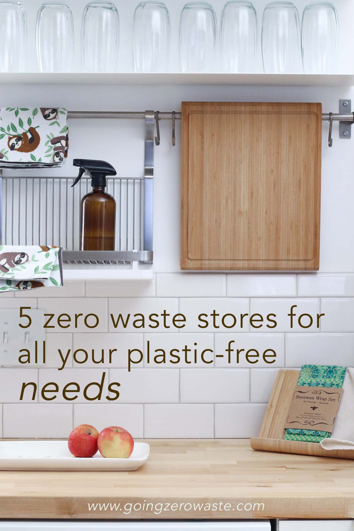 Three zero waste shops for all your plastic free needs from www.goingzerowaste.com #zerowaste #ecofriendly #zerowasteshops