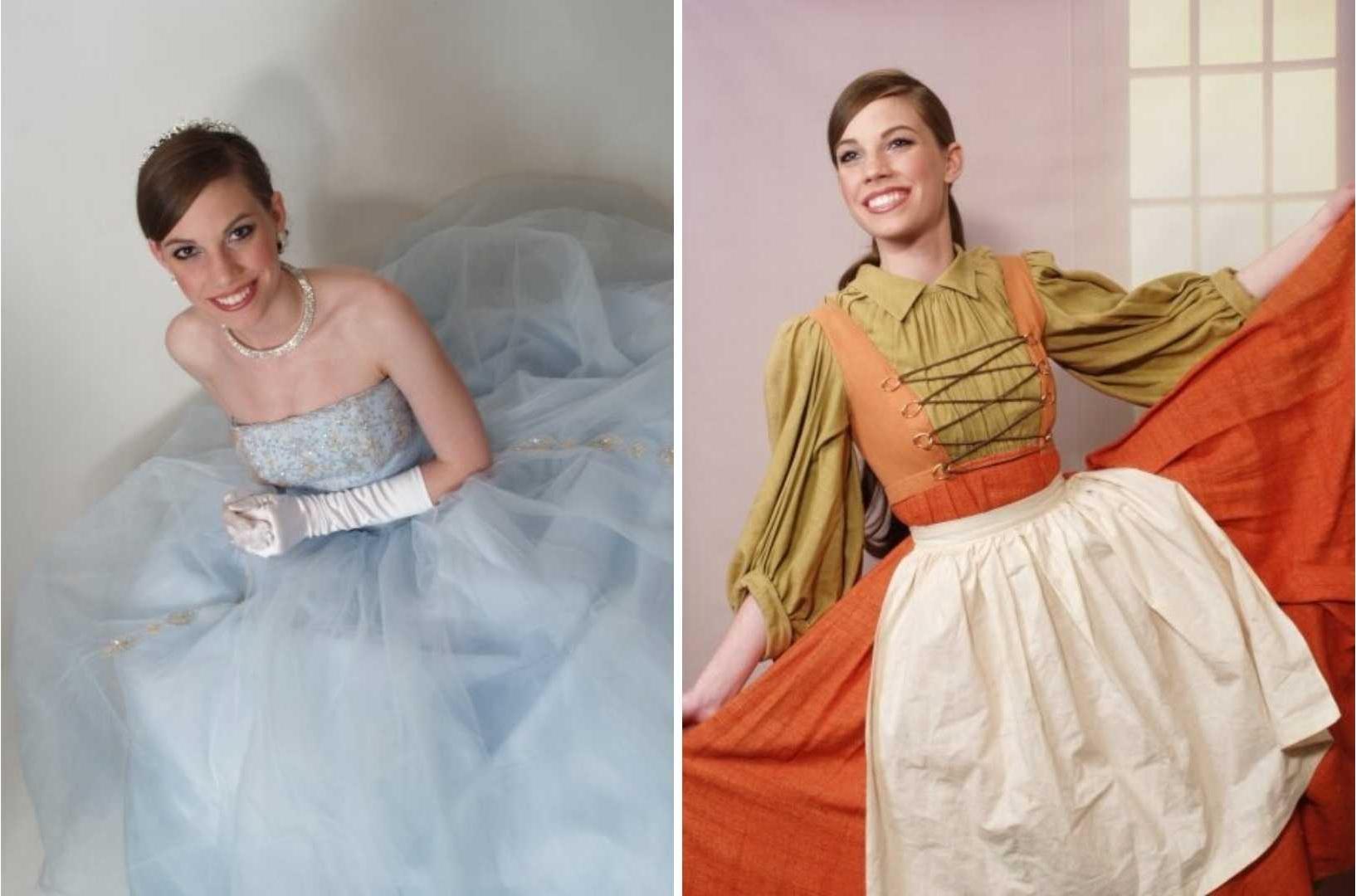 Kathryn Kellogg when she starred in Cinderella.
