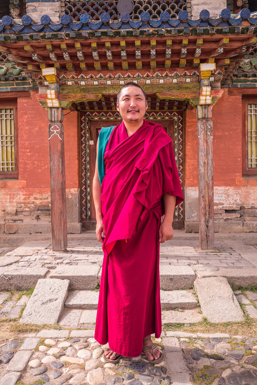 Lama Baasansuren, Abbot of Erdene Zuu Monastery
