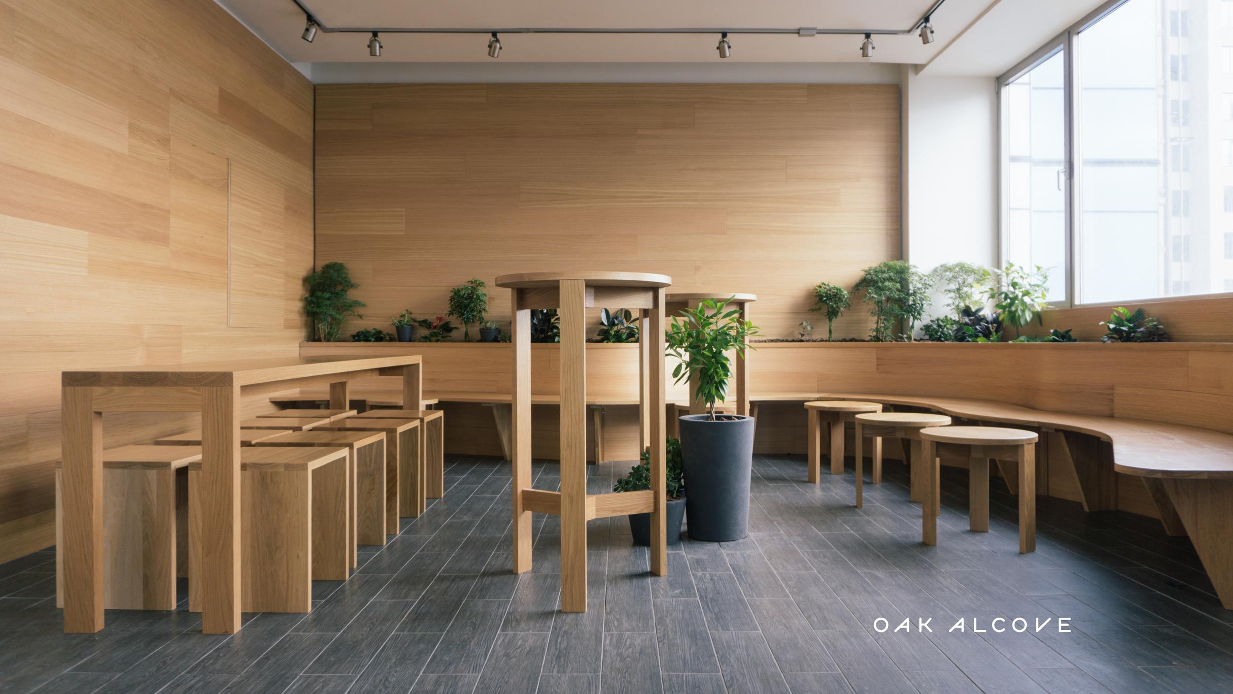 Kimoto Oak Alcove