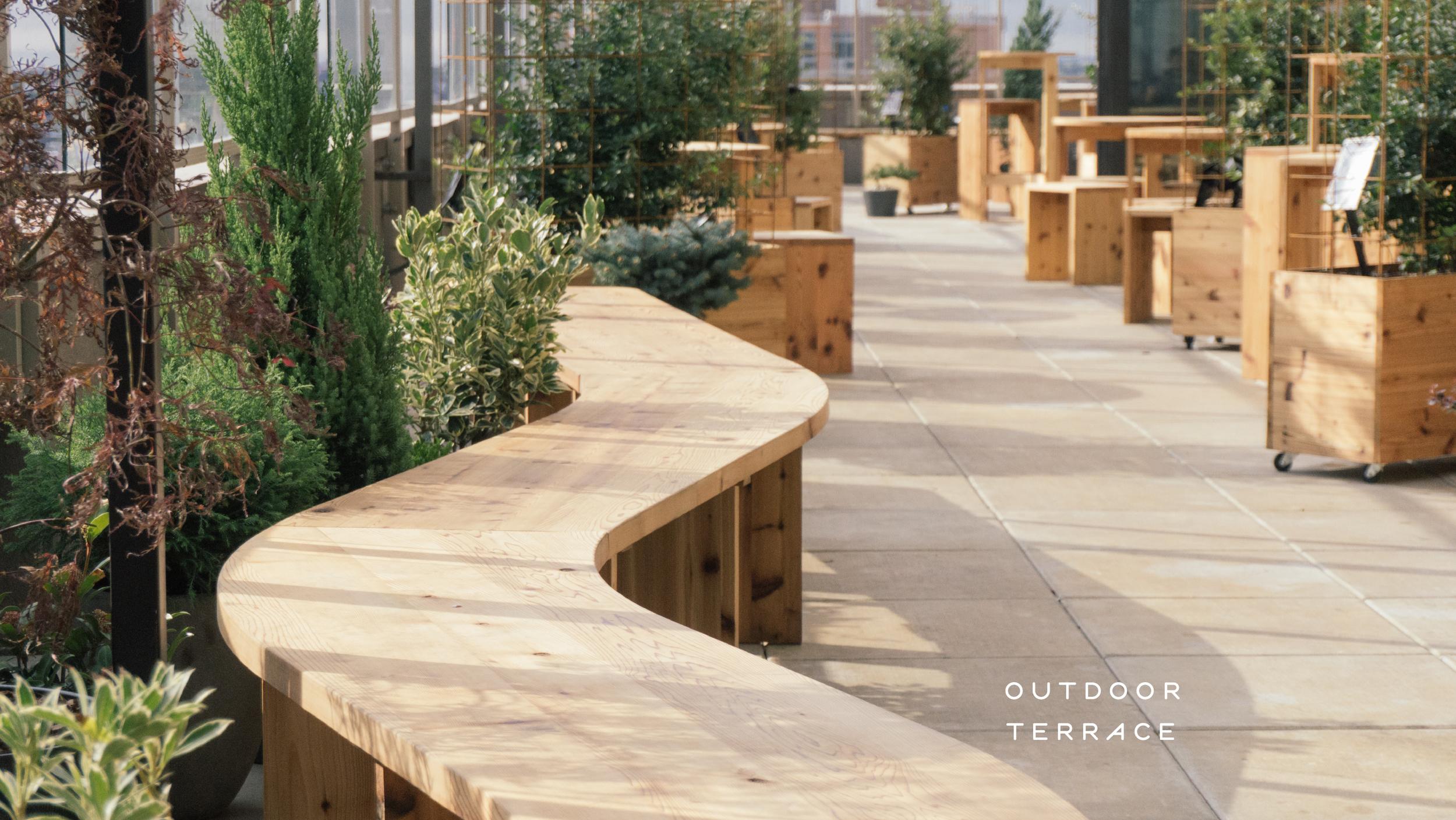 KImoto Outdoor Terrace