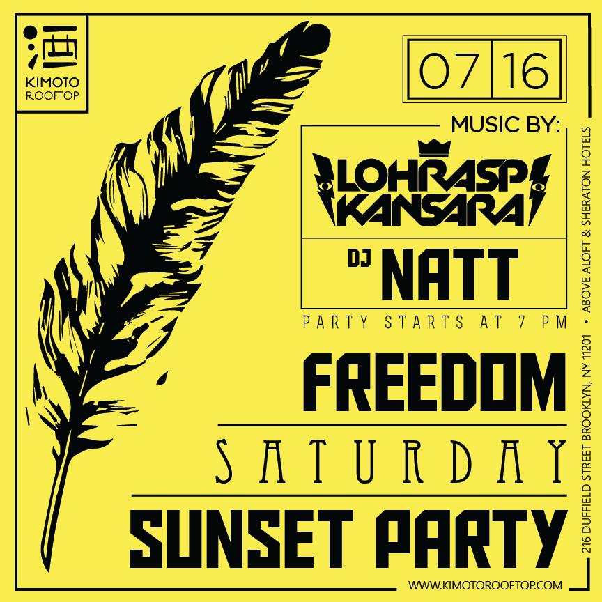 Kimoto Freedom Saturdays
