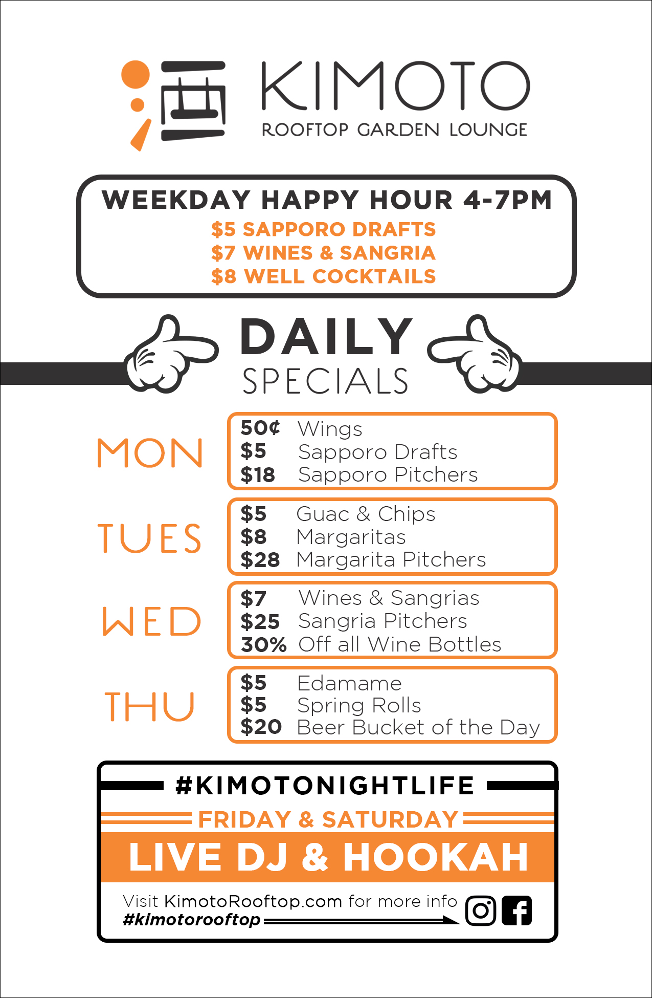 Happy Hour still on during Lunch Hours