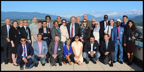 Attendees of the Freedom of Religion and Belief and Sexuality Conference, Geneva, June 2016