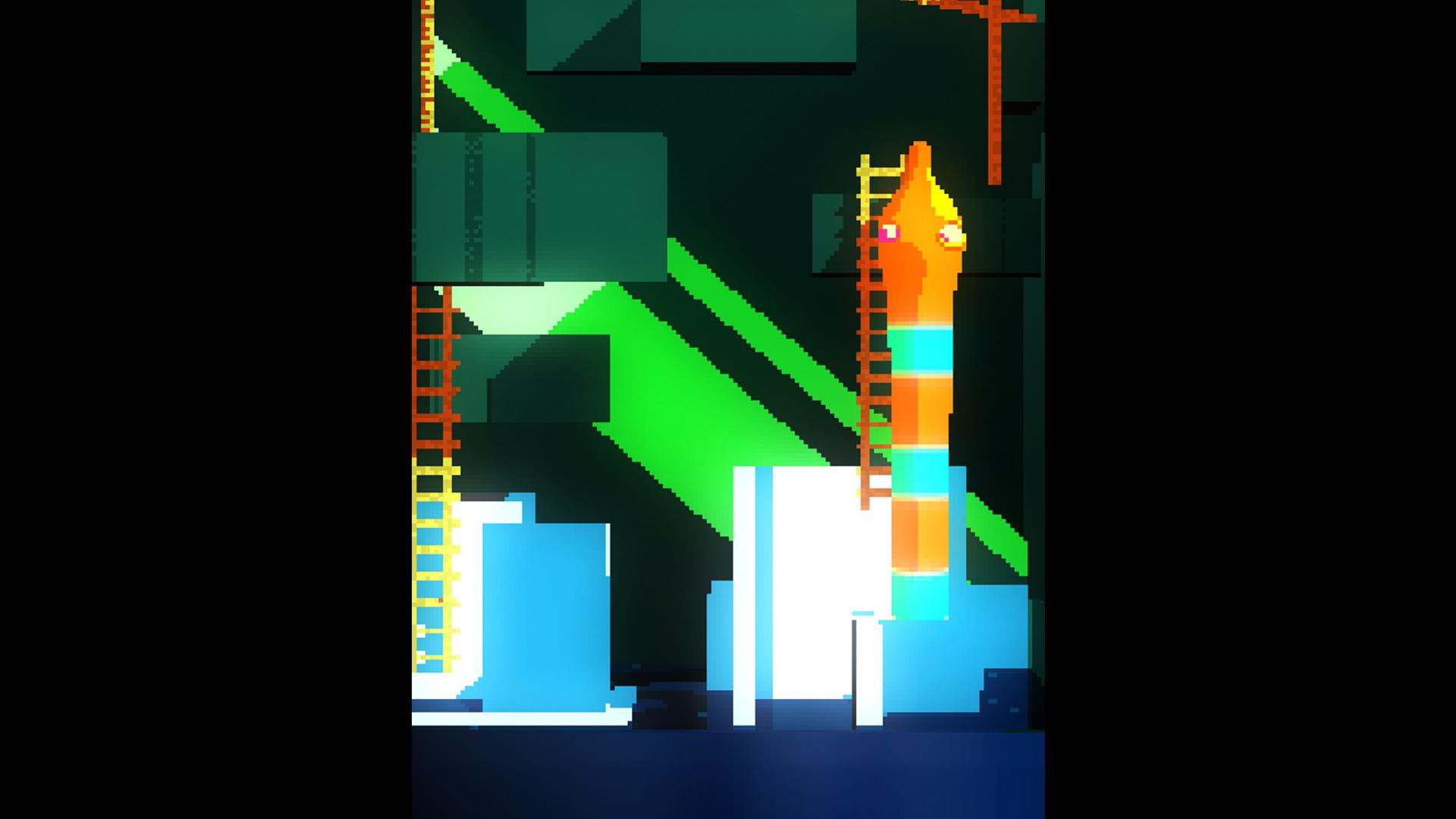 Vertical representation of the scene above.