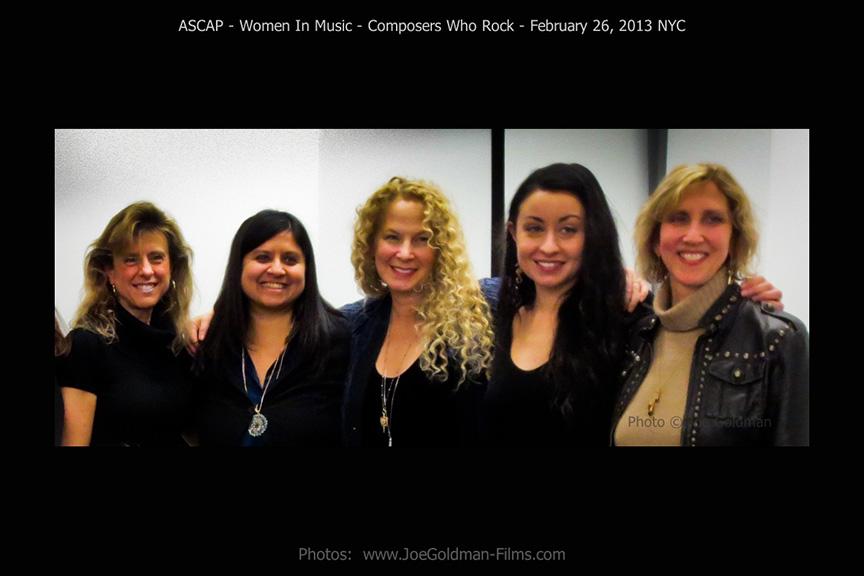 Ascap's WOMEN WHO ROCK- Neeta Ragoowansi, Mieka Pauley & The Gyrlz