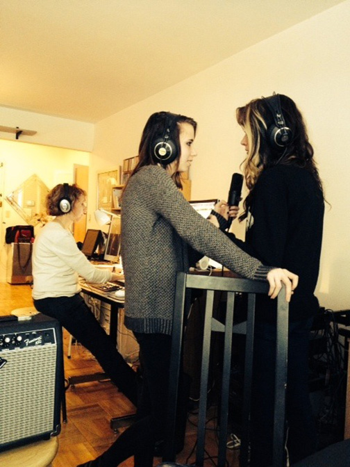 Working With Courage My Love (Phoenix & Mercedes Arnhorn) At My NYC Studio