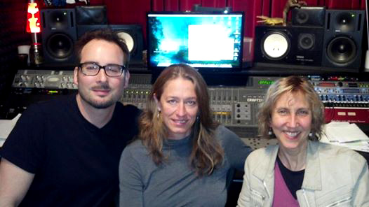 Producing April Higuera's EP With Matt Anthony At Engine Sound, NYC