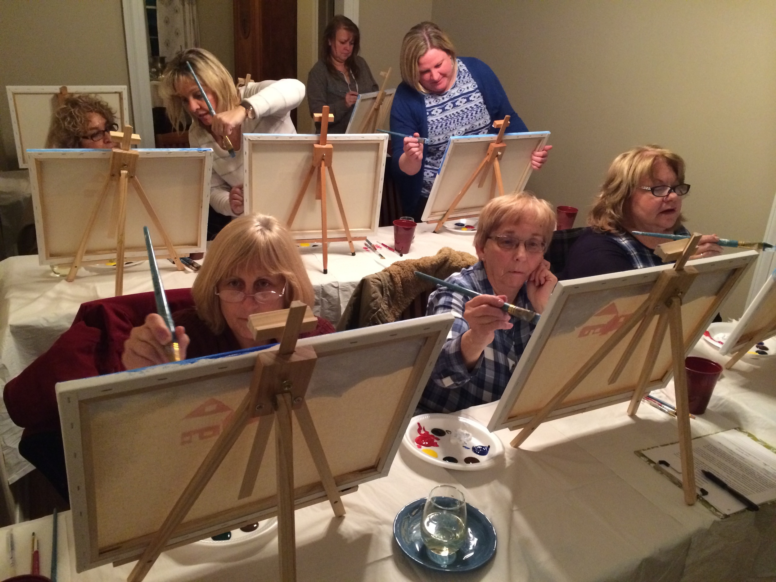 Unwine & Paint Event