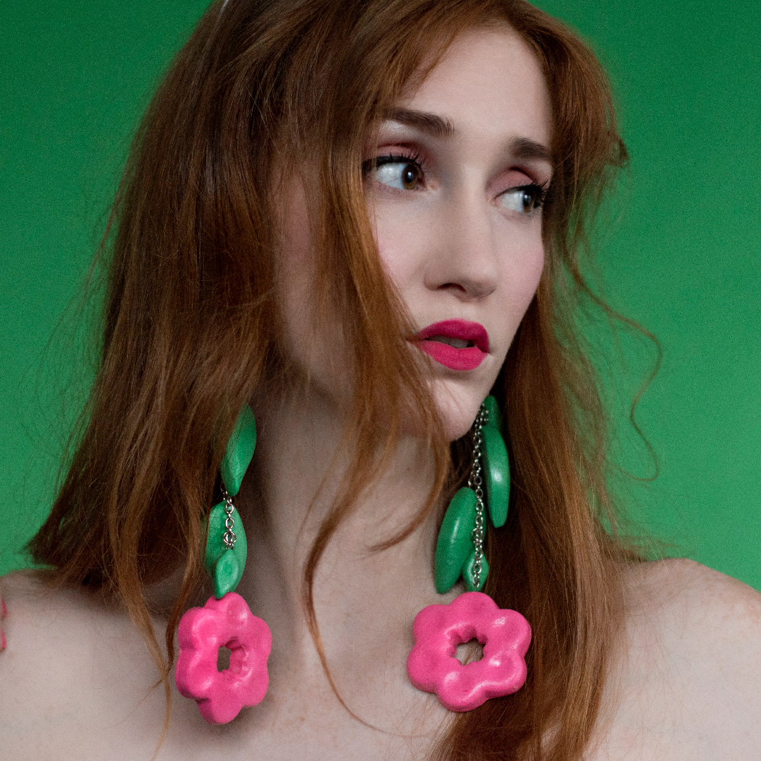 Flower Power Earring Available for Purchase -