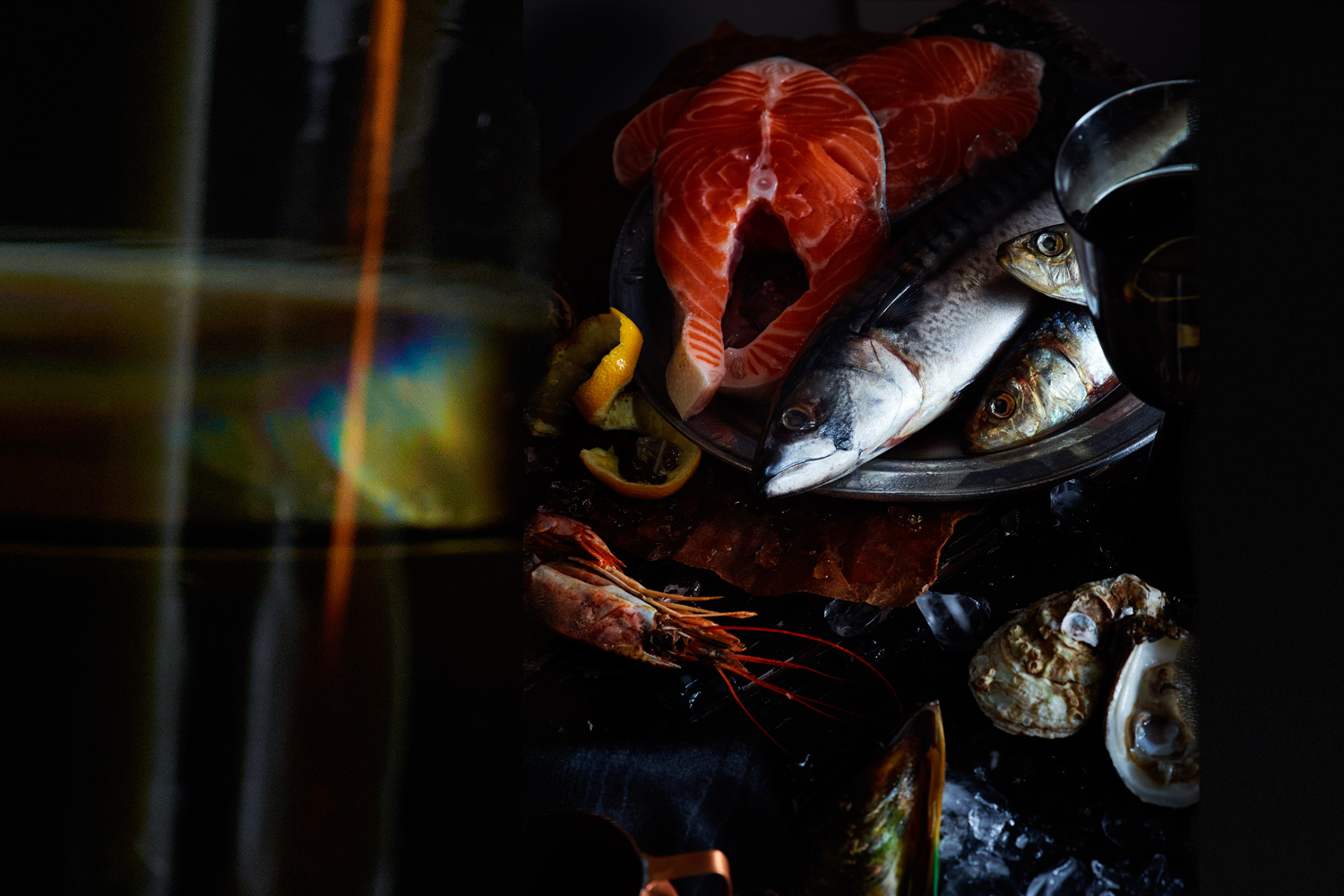 17th Century Seafood - ART DIRECTION + PROP STYLING