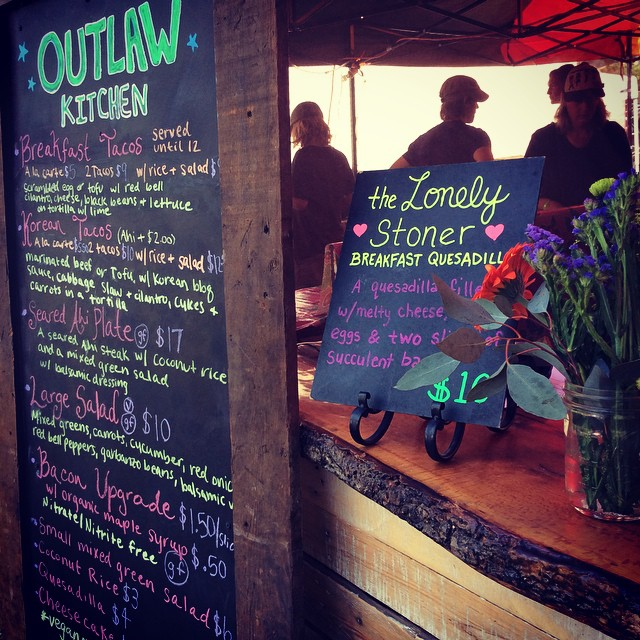 How could you go wrong with a menu like that?! Come say hi at the Benbow Summer Arts and Music Festival!