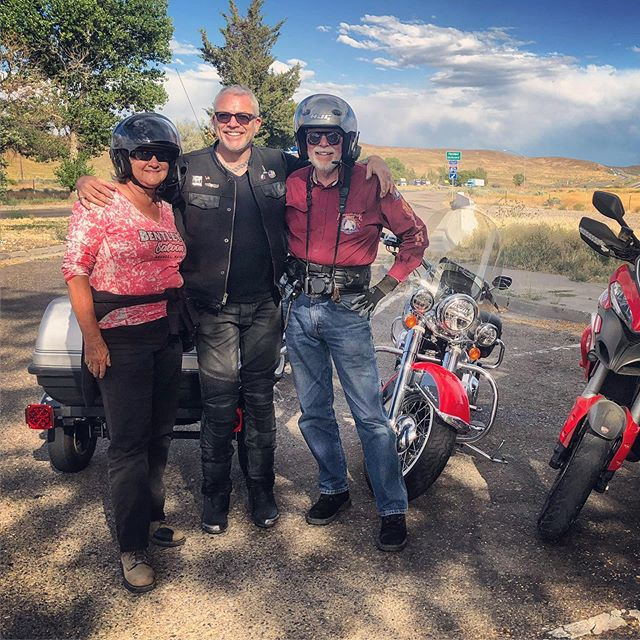 Winding down day 2 on the road to #sturgis2019