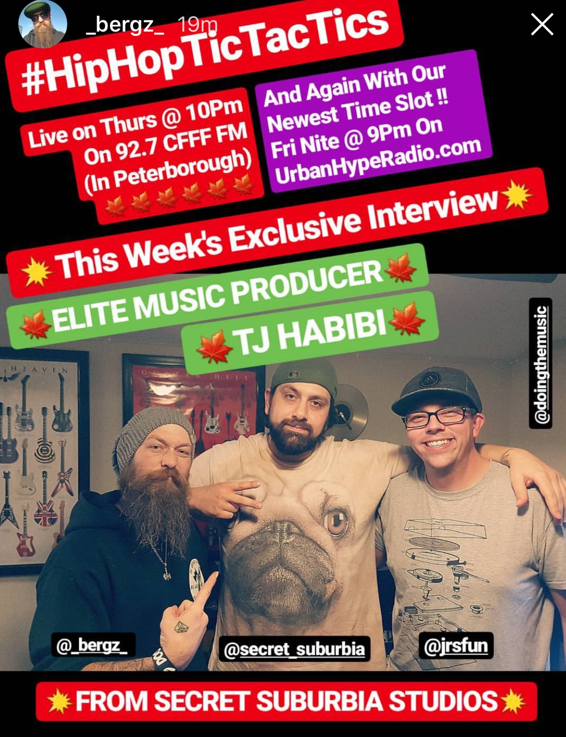 This week we interviewed TJ Habibi from Secret Suburbia Studios.  Check out part one for some incredible stories and production tips.