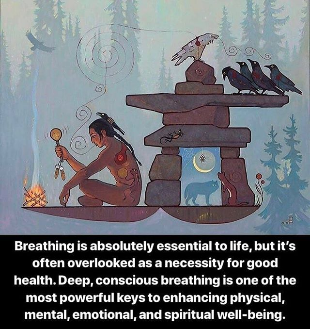 Breath is simple, yet powerful! 🌬️✨ Repost @righthandpath ・・・ Artist🎨: #vasilwoodland A regular practice of deep, conscious breathing can bring great physical, mental, emotional, and spiritual benefit to the individual. By breathing, relaxing, and releasing the old emotions and false beliefs, we can free ourselves to live more in the present moment to experience more energy, love, joy, and inner peace.  #righthandpath #righteousness #breath #breathe #breathwork