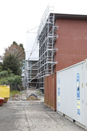 the university of auckland, 3 new student hall ACCOMMODATION buildings - carpentry works & interior fit-out