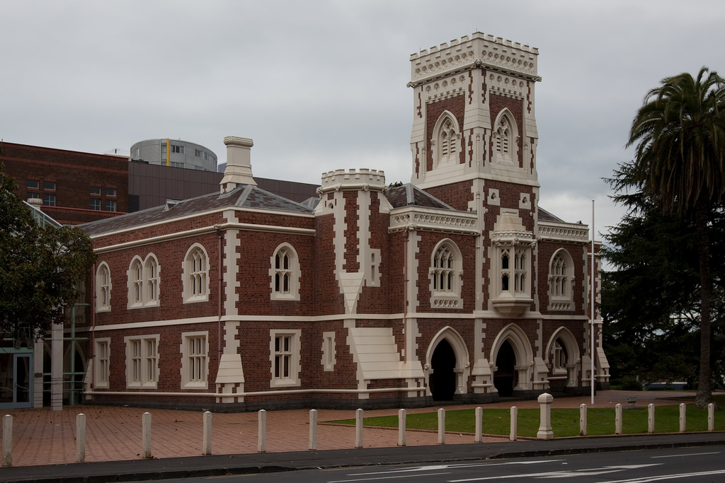 Auckland high court - internal carpentry works, Plastering & painting