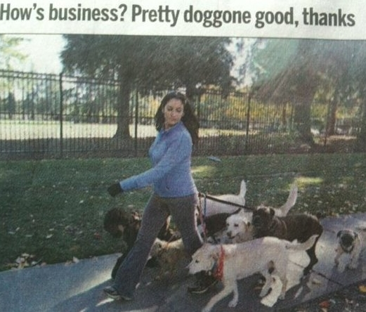 Me and one of my packs made it on the front page of the mercury news in spring 2006