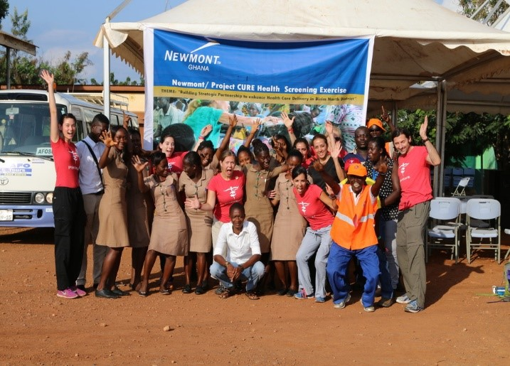 CURE Clinics trip in Ghana