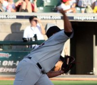 Rangers prospect Tommy Hunter at approximately 90° of elbow flexion (Photo Source: Scott Lucas)