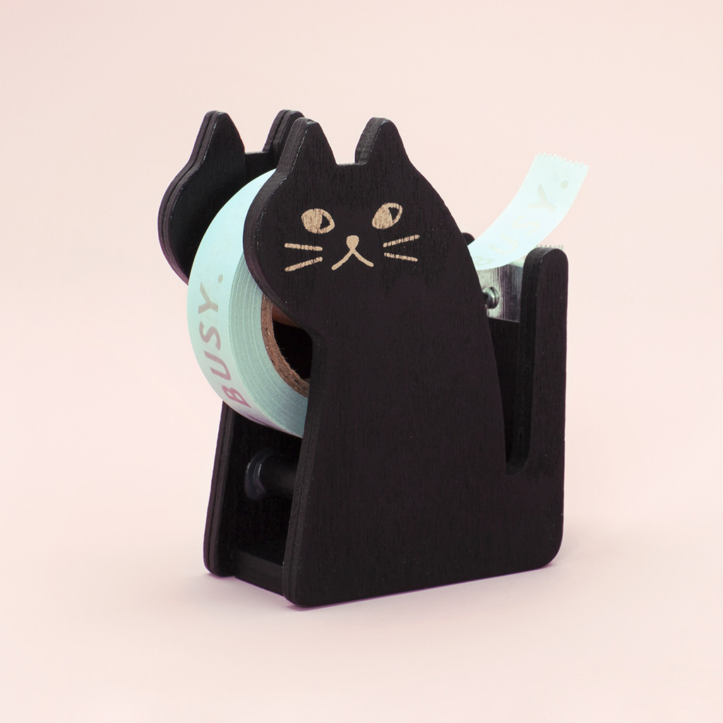 Cat tape holder. #winning